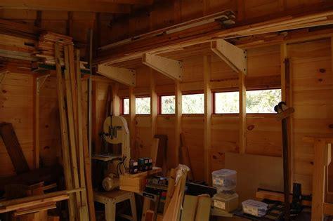 michael s garage workshop the wood whisperer michael s standalone shop the wood whisperer