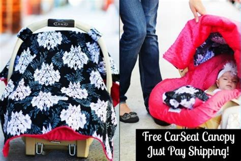 free car seat canopy tons of freebies for free baby slings free car seat