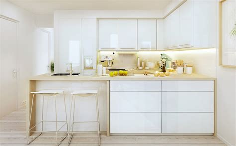 white modern kitchen inspiring interior designs by p m studio