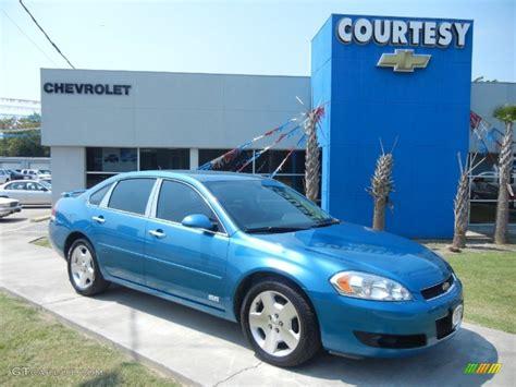 2008 aqua blue metallic chevrolet impala ss 54257744 gtcarlot car color galleries