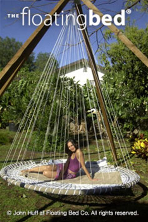 outdoor floating bed outdoor hanging bed hammock bed for sale the floating