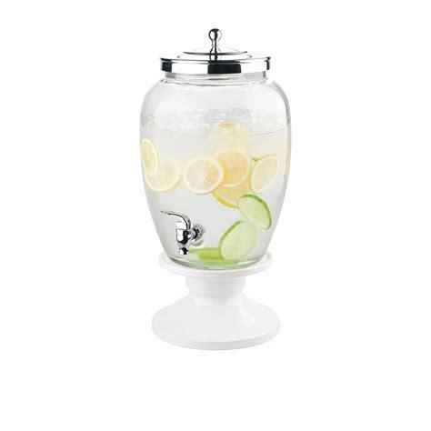 White Ceramic L Base by Avanti Celebrations Beverage Dispenser 12l W White