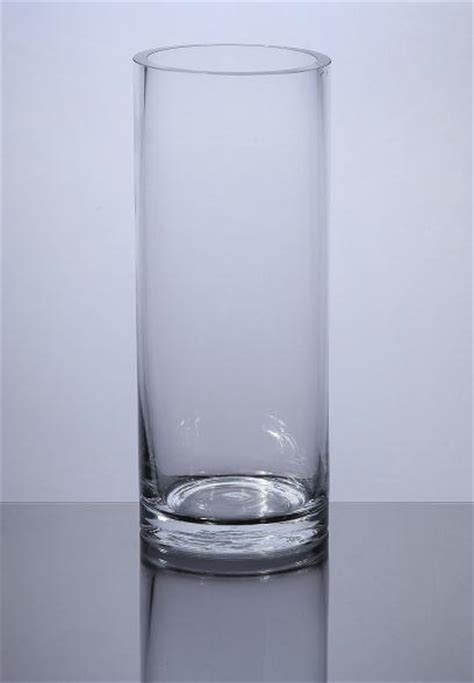Cylindrical Glass Vases by Pc408 Cylinder Glass Vase 4 Quot X 8 Quot 12 P C Cylinder Glass