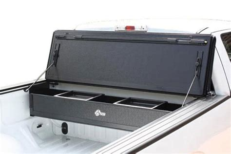 truck bed cls shop bak bakflip fibermax tonneau cover with bakbox 2 toolbox
