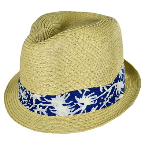 toddler fedora hat san diego hat company palm tree band toddler s fedora hat