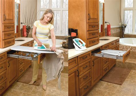 pull out ironing board cabinet rev a shelf her revashelf pull out ironing board