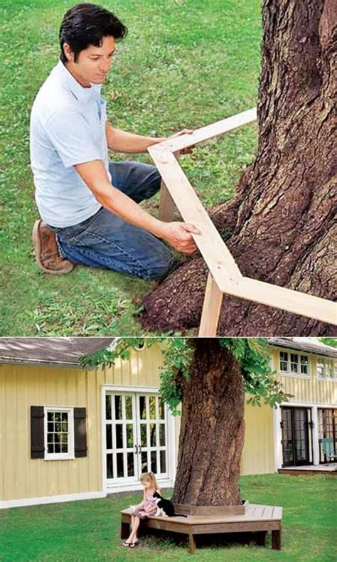 build a tree bench 17 best ideas about bench around trees on pinterest deck