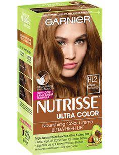 caramel hair color gray coverage nourishing color creme hl2 warm caramel hair