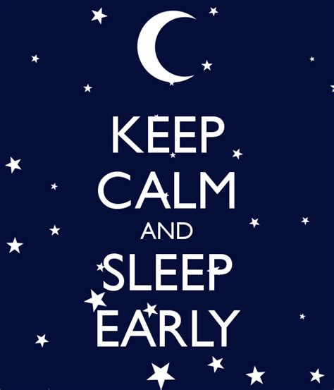 sleep early quotes