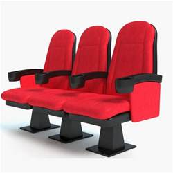 3d model theater seats