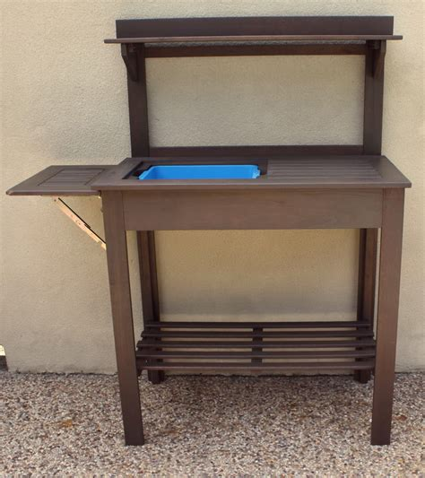 outdoor potting bench with sink outdoor potting bench with sink home design ideas
