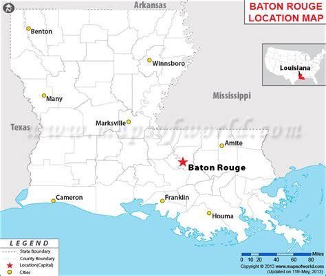 baton usa map where is baton louisiana