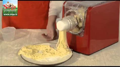 macchina per fare la pasta fresca automatica impasta e crea pastamagic sirge