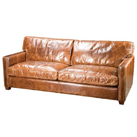 Brown Distressed Leather Sofa Brown Distressed Leather Weathered Leather Sofa