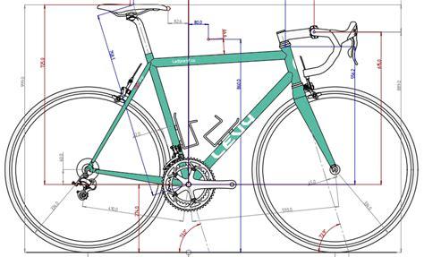 bicycle frame design dimensions frame build process levy bike works
