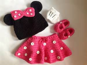 items similar to handmade crochet minnie mouse inspired