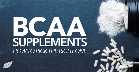 the best bcaa what is the best bcaa supplement for your lifestyle