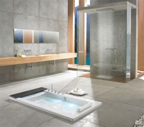 10 Gorgeous In Floor Bathtubs Shelterness