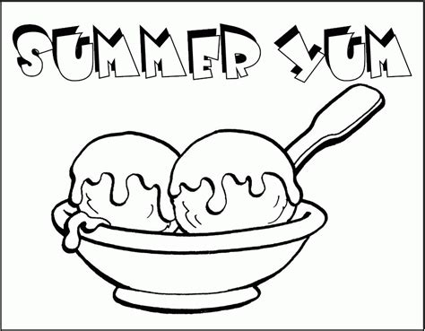 coloring pages of ice cream sundaes ice cream sundae coloring pages coloring home
