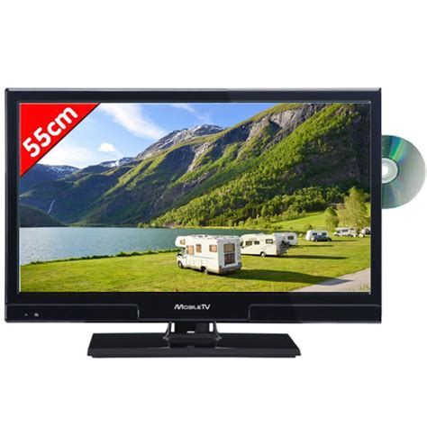 Tv Led Mobil t 201 l 201 vision mobil tv led hd 55cm slim dvd tnt
