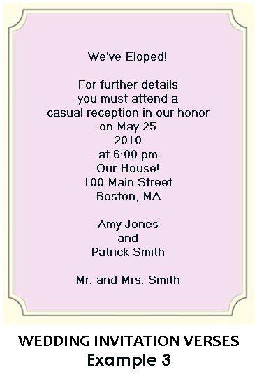 Funny Wedding Invitation Wording   HAIRSTYLE GALLERY