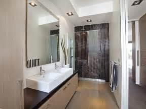 Bathroom Ensuite Ideas Modern Bathroom Design With Twin Basins Using Ceramic