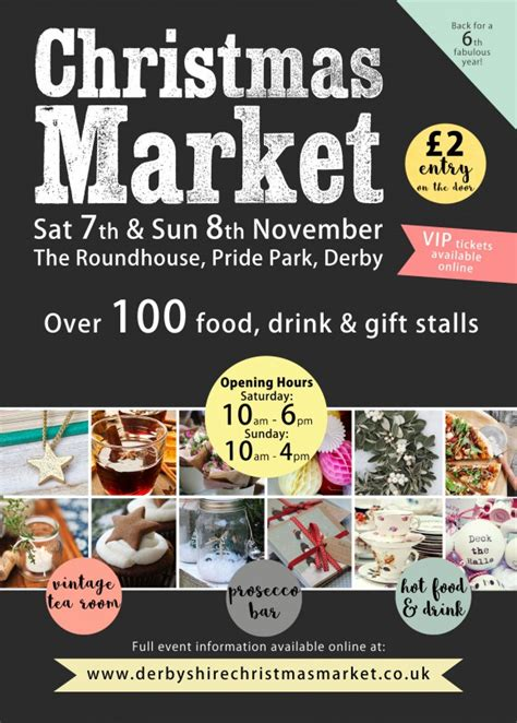 christmas market the roundhouse derby fabulous places