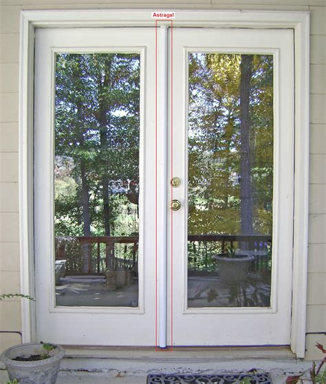 how to replace an exterior french door astragal part 3