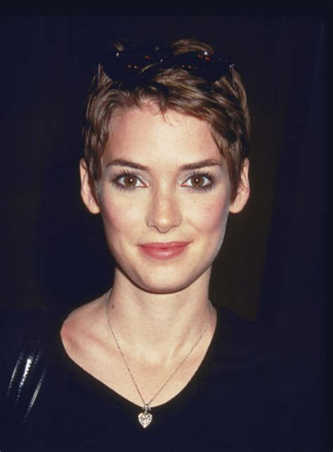 dylan rider with a pixie haircut winona ryder hairstyles