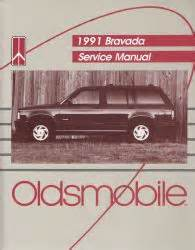 free car repair manuals 1992 oldsmobile bravada electronic 1991 oldsmobile bravada factory service manual