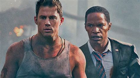 white house down trailer 2 2013 jamie foxx movie