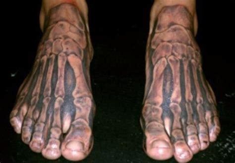 foot tattoos for guys 22 foot tattoos for