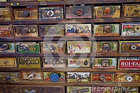 spectacular original antique general store tobacco cabinet cigars for sale editorial photo image 49975006