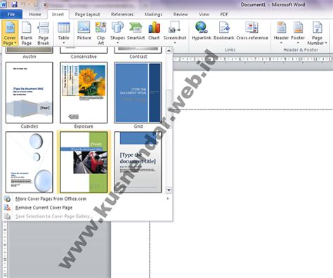 layout buku dengan ms word tutorial membuat cover buku di microsoft word 2007 2010