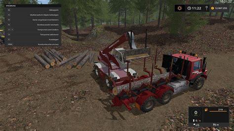 unimog wood v1 0 ls17 farming simulator 2017 mod ls