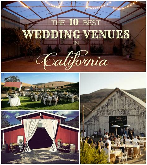 the 10 best rustic wedding venues in california rustic - Best Wedding Reception Venues In California
