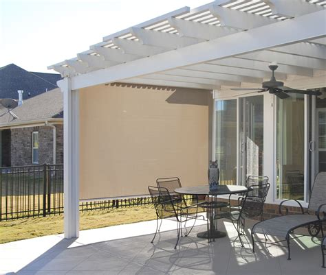 Retractable Awning Side Shade by Awning And Shade Accessories Sunroom And Shade Products