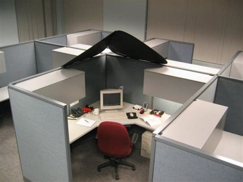 cubicle overhead light shade cubeshield cubicle corner pinterest