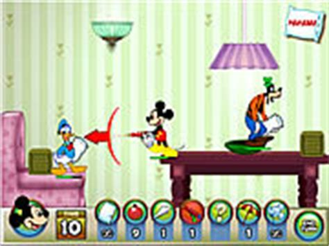 Mickey And Friends In Pillow Fight by Jeux En Ligne Gratuit Mickey Mouse Combat D Oreill 233 S