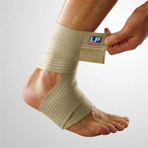 Lp Support Ankle Elastic Blue Uk S Lp 964 Promo lp elasticated ankle wrap sports supports mobility
