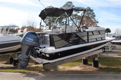 hurricane pontoon boat prices hurricane 216 fundeck ob pontoon boat boats for sale in
