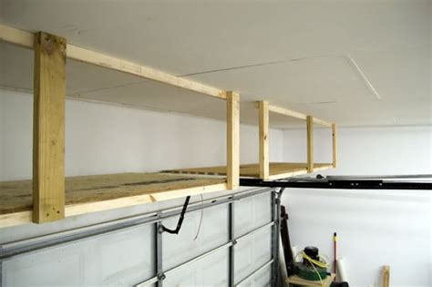 Garage Door Storage Ideas Awesome Diy Garage Organization Ideas Landeelu