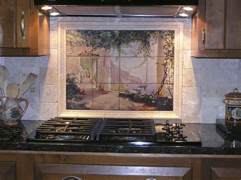 Decorative tile backsplash   Kitchen tile ideas   Amalfi