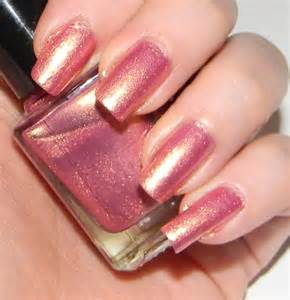 pink nail colors pink nail with golden shimmer