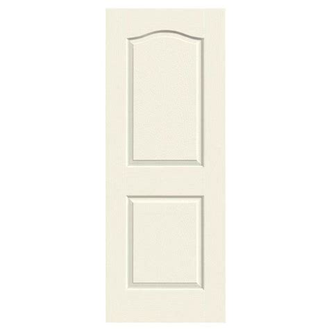 Masonite 28 In X 78 In Textured 6 Panel Hollow Core 28 X 78 Interior Door