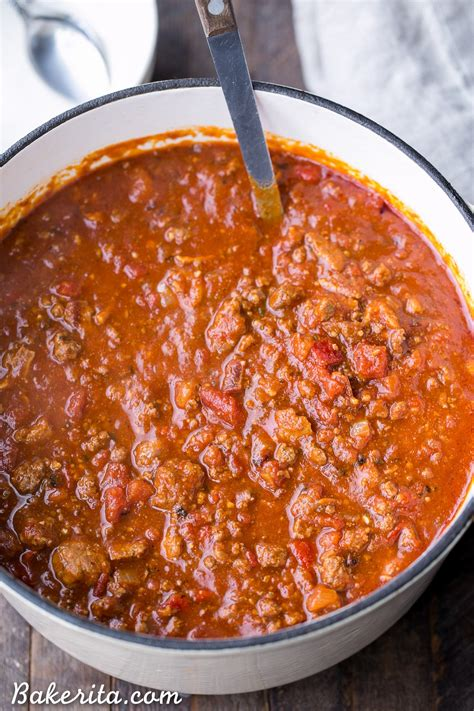 award winning chili on pinterest paleo chili bakerita