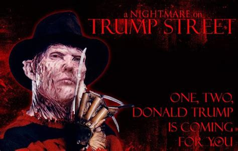 donald trump in movies donald trump photoshopped into horror movie characters is