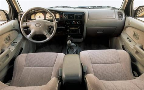 Toyota Tacoma Interior Accessories by 2002 Truck Comparisons Accessories Review Road Test