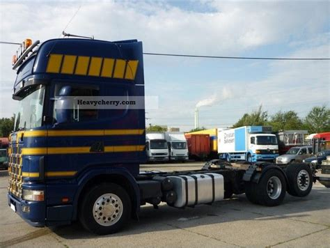 scania 164 480 420 500 switch topline 6x2 retarder 2003