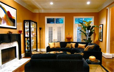 gold living room living room black and gold tones